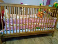 Baby Cot bed/ Junior bed