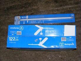 ceiling fan brand new still in box