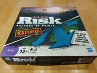Risk - Balance Of Power Strategy Board Game - Immaculate Clean Condition