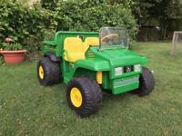 Children's Electric John Deere 'Gator' Car