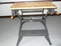 BLACK AND DECKER WORKMATE 750 DUAL HEIGHT EX CONDITION
