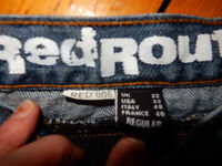Red Route 006 Ultimate Rider Jeans Blue