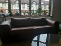 Leathet Italian Sofa