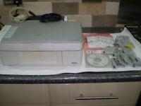 Epsom Stylus DX 3800 Printer and Scanner