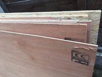 Plywood 5.5mm and Plywood 12 mm