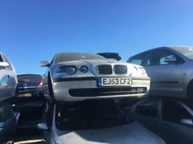 2003 BMW 3 SERIES 316TI ES (MANUAL PETROL) FOR PARTS ONLY