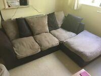 Comfy L-shape Sofa for sale.