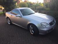 Mercedes SLK 320 auto convertible immaculate