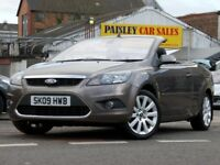 2009 REG FORD FOCUS CC-3, 2.0cc CONVERTIBLE.