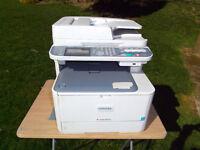 Toshiba A4 photocopier printer scanner fax, colour & B/W laser toner type Desktop copier