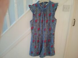 Kids or small Womens Playsuit, Oasis, Size 10