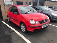 2005 VW POLO 1.2 SERVICE HISTORY LOW MILEAGE 1 YEARS MOT RELIABLE CAR PX WELCOME £895