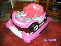 Pink Walker Car