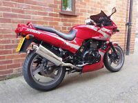 Kawasaki GPZ 500S Very Low Mileage, Possibly One of The Cleanest Around.