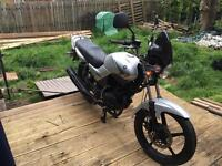 Yamaha ybr 125 for sale or swaps for bigger bike