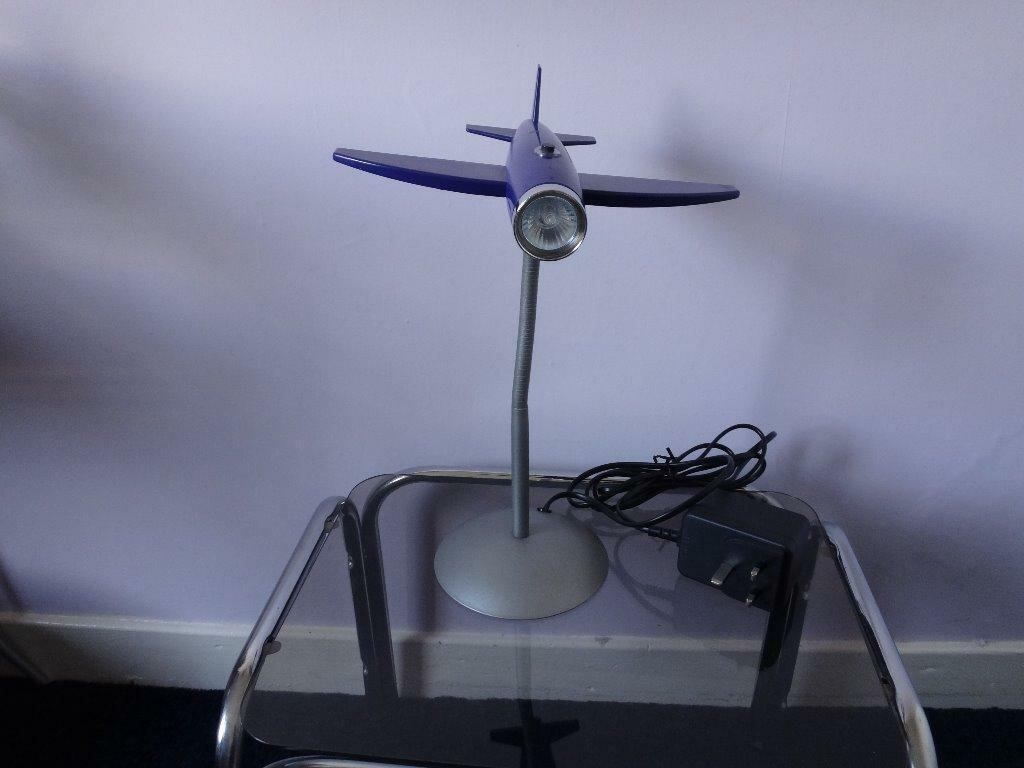 Aeroplane Table Lamp