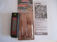 Brand-new Powerfix building and wood moisture meter