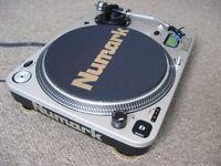 Numark Pro TT-1 Direct Drive Turntable Record Deck. With upgraded Ortofon DJ OM S Pro Cartridge. TT1