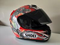 Shoei X Spirit Kiyonari Replica Full Face Sports Motorcycle Helmet