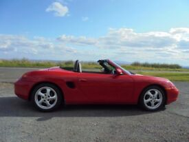 PORSCHE BOXSTER CONVERTIBLE EXCELLENT CONDITION PART X WELCOME
