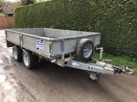 Ifor Williams 10ft dropside trailer