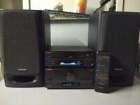 HI-FI Made in Japan Technics Stereo amplifier SA-CH750 Procesor SH-CH750 Speakers SB-CH750A.