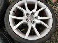 18 inch Audi Alloy wheels 5x112