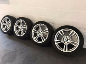 BMW 18 inch 3 series alloys BMW 18 inch 4 Series alloys M Sport Alloy Wheels F30 F31 F32 F33 400M