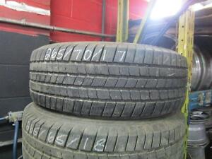 SET OF USED MICHELIN TIRES P265/70R17