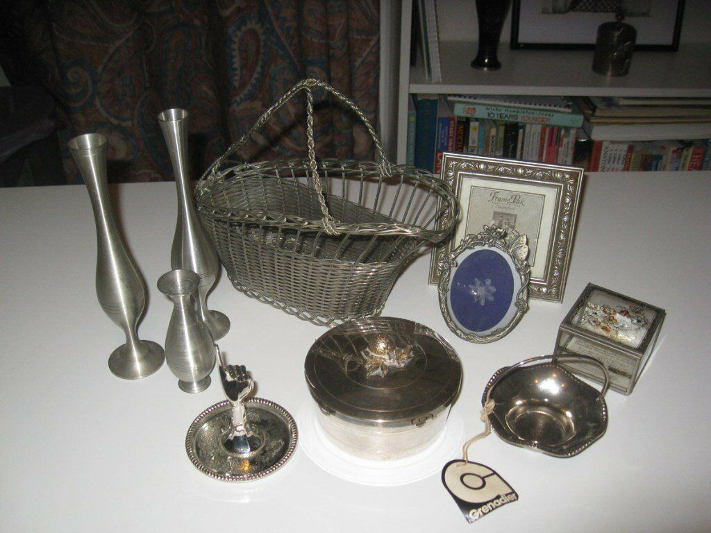 JOBLOT Silver Plated and other Collectible items