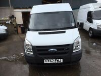 FORD TRANSIT MWB FRIDGE VAN,57 REG.1 OWNER.NEW MOT