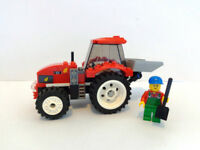 Lego Tractor and Farmer Minifig Set - 100% Complete - Ideal Christmas Present