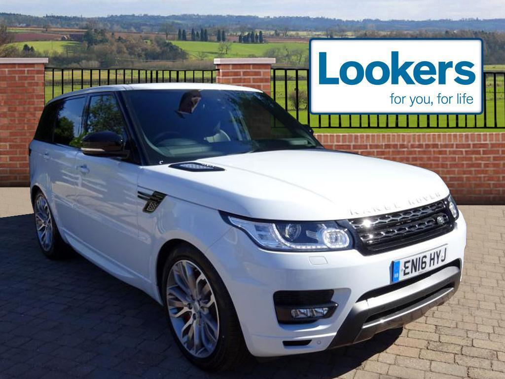 land rover range rover sport sdv6 hse dynamic white 2016 06 30 in chelmsford essex gumtree. Black Bedroom Furniture Sets. Home Design Ideas