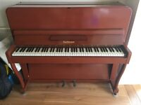 Upright Piano, Bachmann - in need of a more musical home