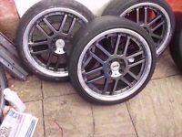 4 x TSW Alloy Wheels