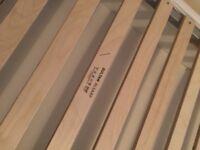 IKEA Sultan Alsarp single storage bed & mattress