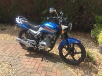 2015 lexmoto arrow 125cc 12 months mot ready to ride