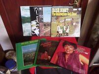 10 Irish LPs..various