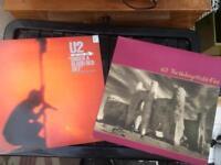U2 VINYL ALBUMS