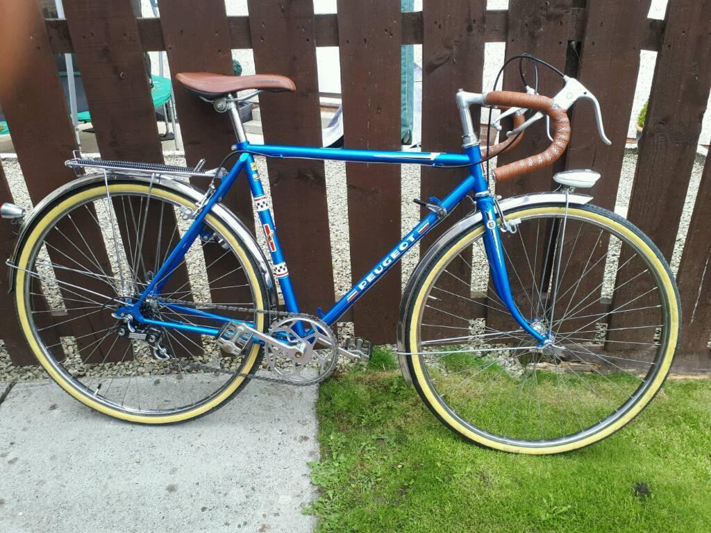 Vintage Peugeot Road Bike Ladies Youths In Paisley