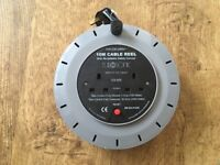 Eurosonic 10m 2-Way Extension Cable Reel