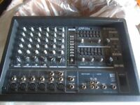 Yamaha EMX66 M PA mixer complete with 4 Speakers