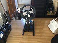 Logitech - G27 Racing wheel with Stand