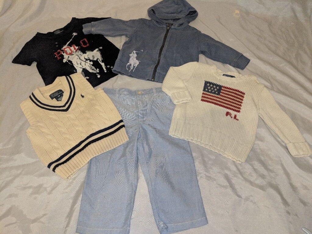 e0e57c8d3729 Boys bundle designer Ralph Lauren clothes 12-18 months