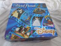 DISNEY TRIVIAL PURSUIT BOARD GAME PARKER HASBRO ANIMATED PICTURE EDITION 1999