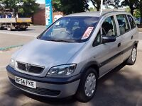 2005 54 Vauxhall Zafira 2.0 Dti Long MOT With Full Service History 1 Owner Bargain 7 Seater Only 895