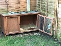 Rabbit including hutch