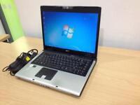 ACER Aspire 5680 laptop with webcam - Windows 7, wifi, office