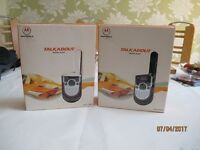 motorola walkie talkie duo still boxed