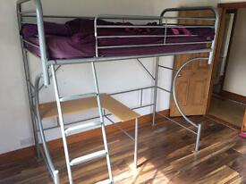 Kids Bunk Bed/High sleeper with desk
